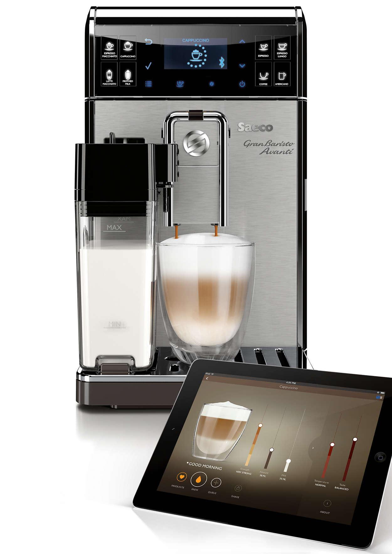 Saeco GranBaristo Avanti Stainless Steel One-Touch Espresso Machine HD8967/47