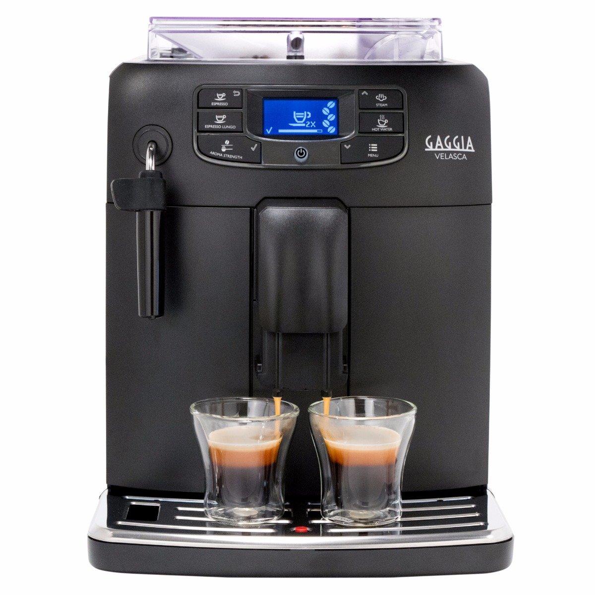Gaggia Velasca Super Automatic Espresso Machine - Black Model No.RI8260/47