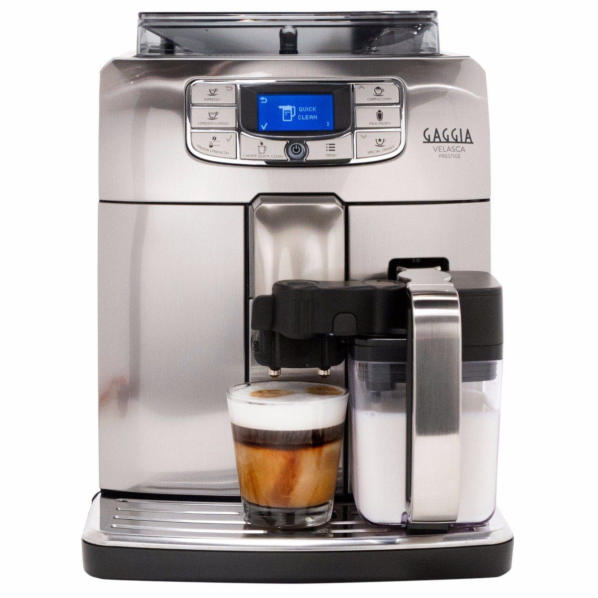 Gaggia Velasca Prestige OTC Super Automatic Espresso Machine - Silver Model No.RI8263/47