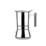 Stove Top 12 Cup Vespress M/Inox Espresso Maker Stainless Steel (Manico)