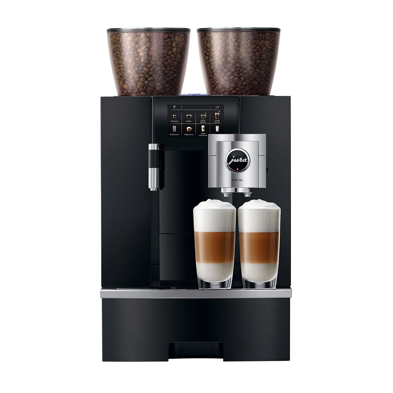 Jura Giga X8c Professional G2 Superautomatic Espresso Machine with Dual Bean Hopper