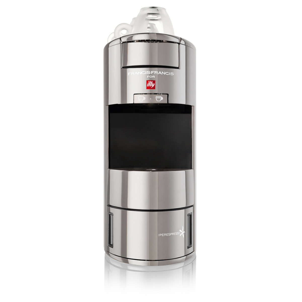 Francis Francis! X9 for Illy iperEspresso Machine Chrome ...