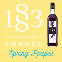 Spring Drink Recipes from 1883 Maison Routin