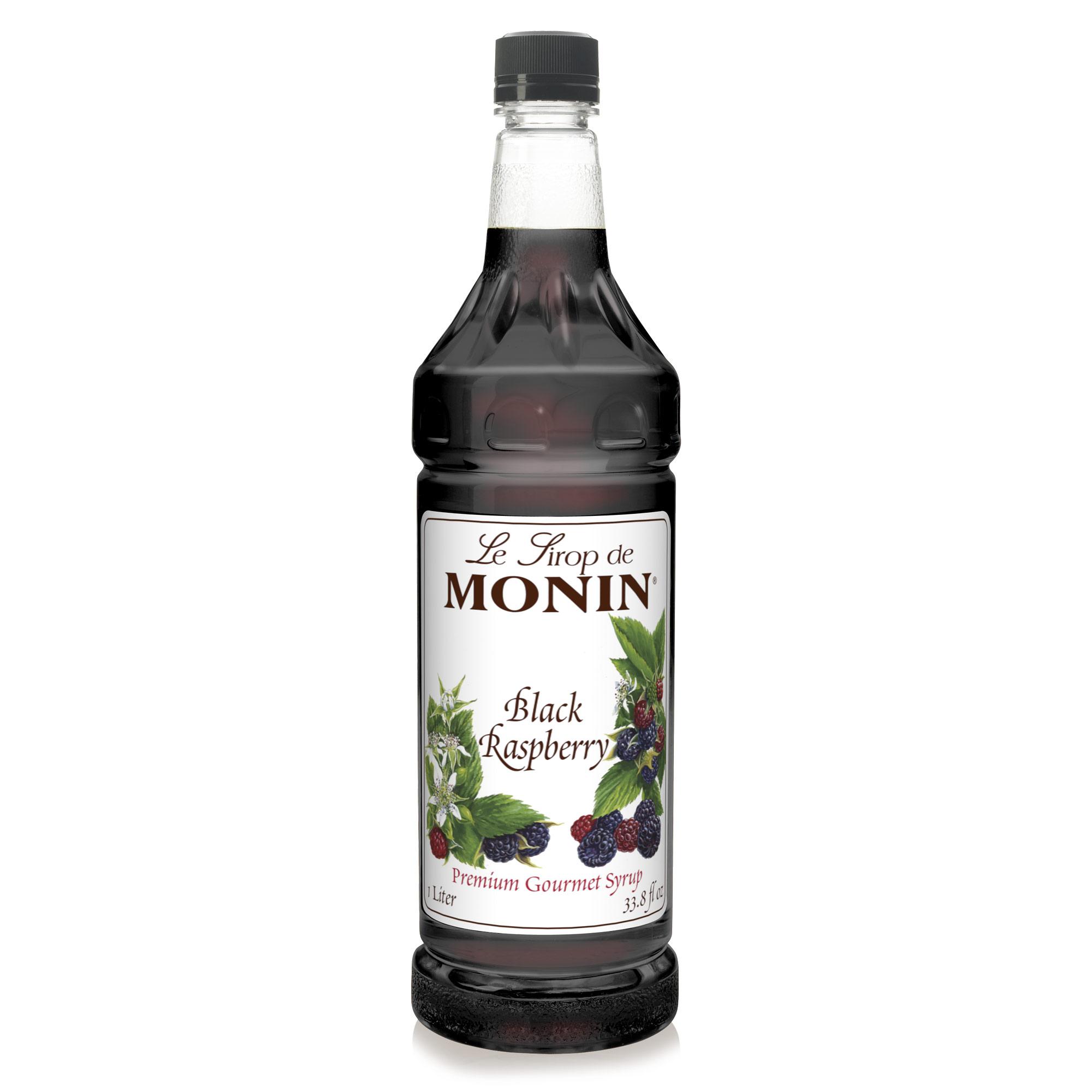 Monin Black Raspberry Syrup 1L