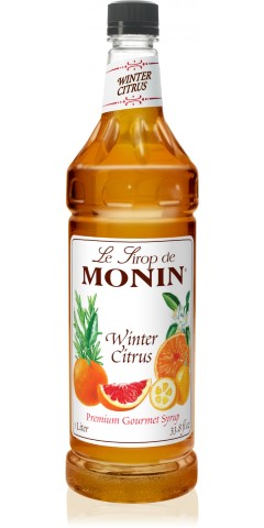 Monin Winter Citrus 1L Plastic Bottle