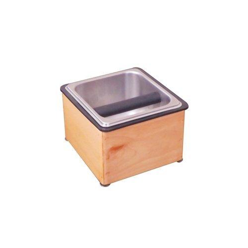Krome Wooden Countertop Knock Box - C881
