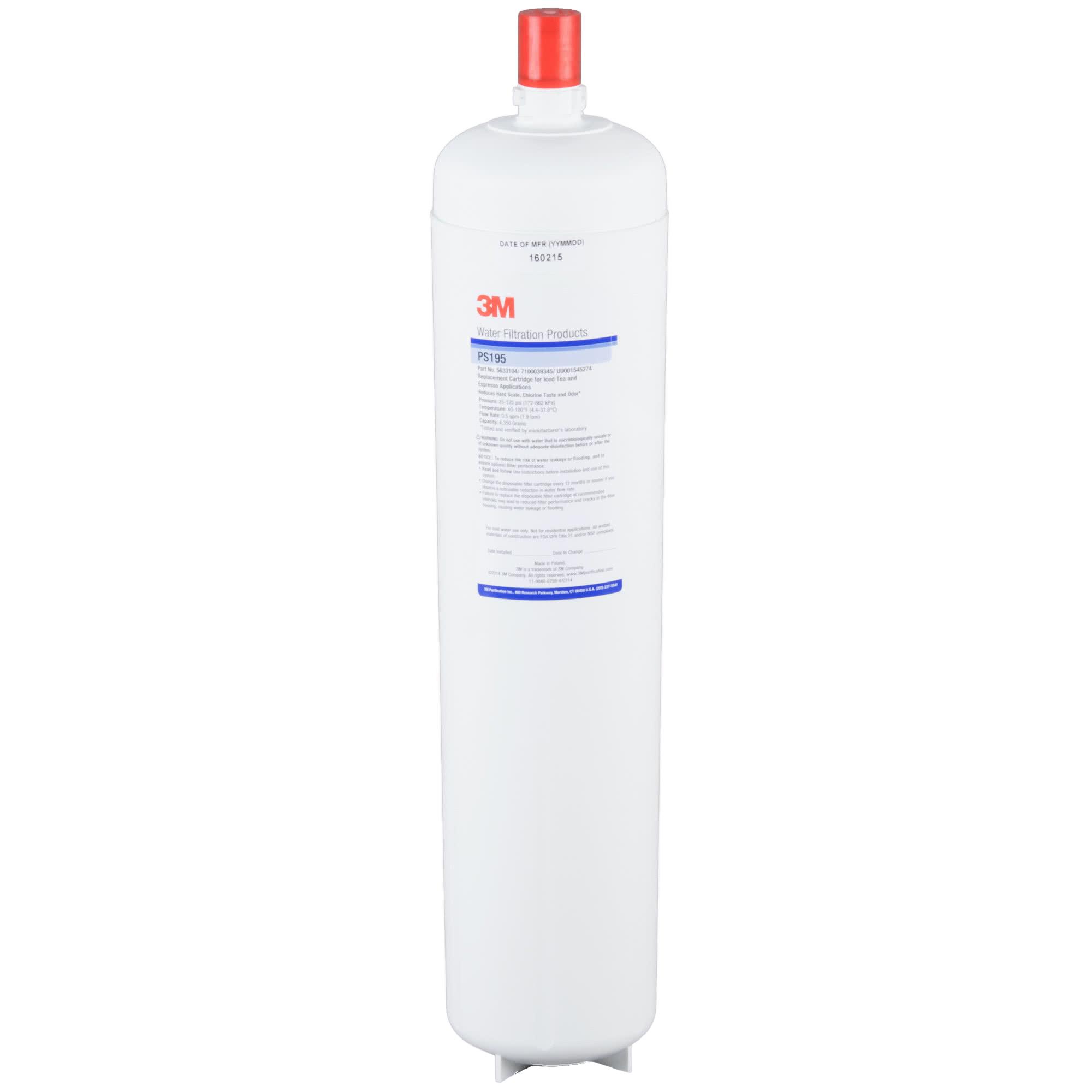 3M Cuno PS195 Retrofit Scale, Chlorine Taste and Odor Reduction Cartridge