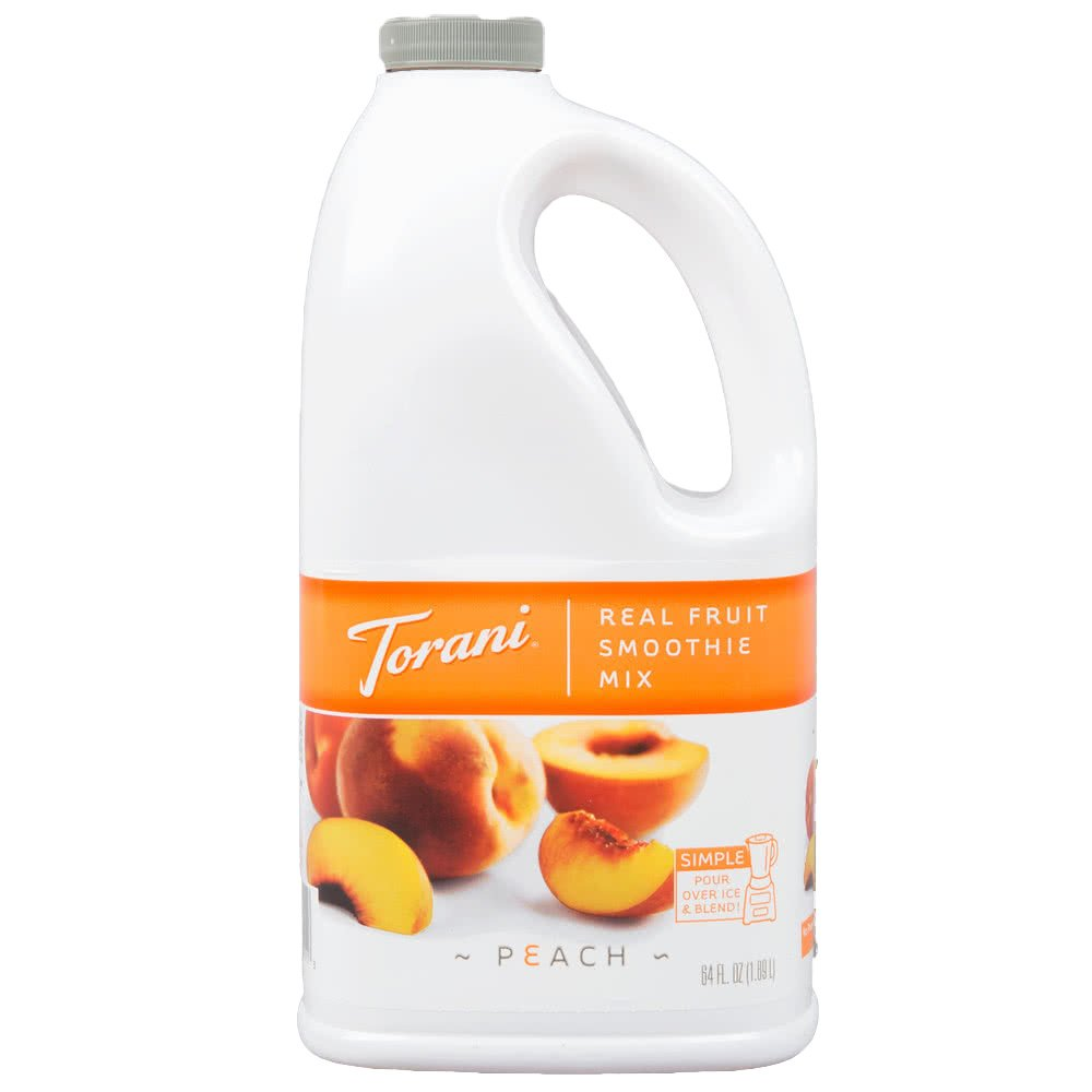 Torani Peach Real Fruit Smoothie Mix