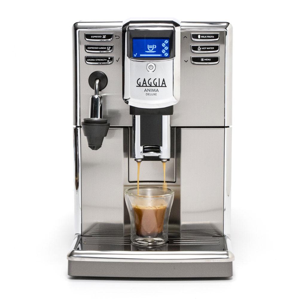 Gaggia Anima Deluxe Super Automatic Espresso Machine - Silver Model No.RI8761/46
