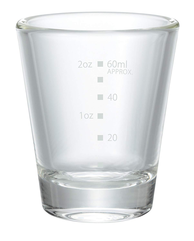 Hario Shot Glass 3oz with White Print