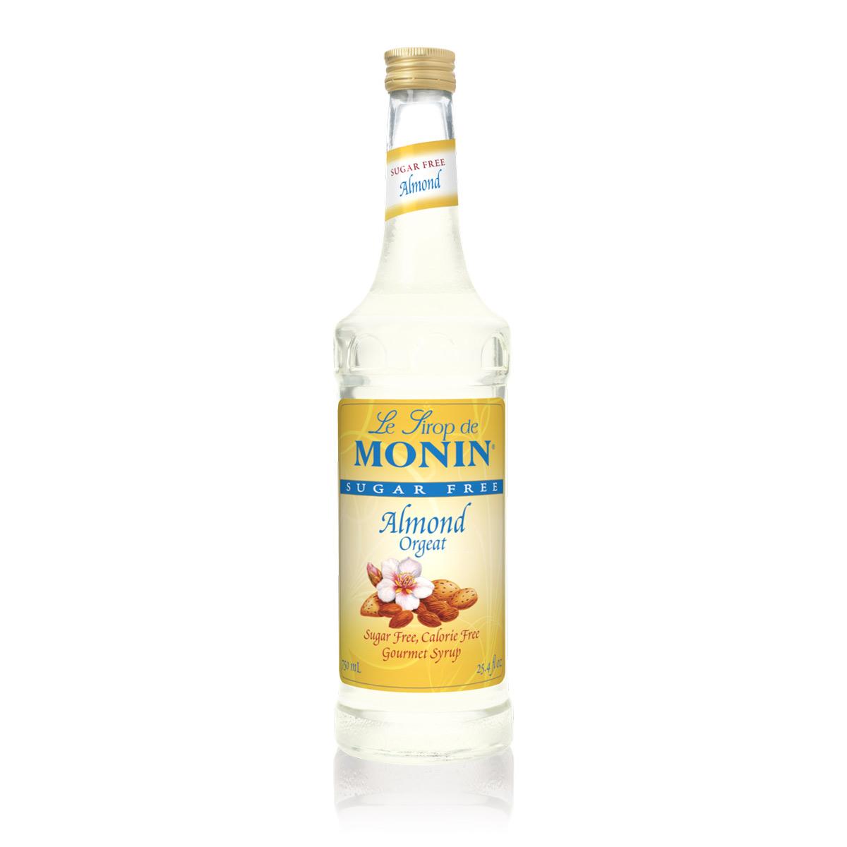 Monin Sugar Free Almond Syrup - 750ml Bottle