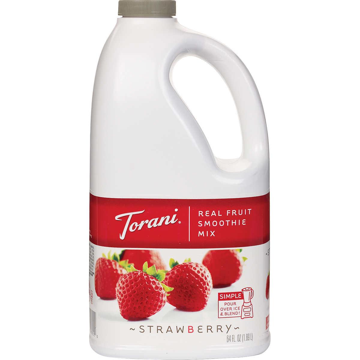 Torani Strawberry Real Fruit Smoothie Mix
