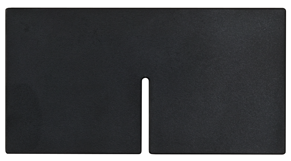 "Snap Bin 3"" High Diagonal Divider Black"