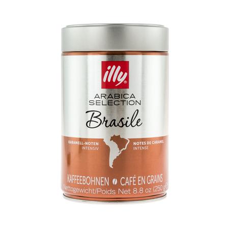 illy Arabica Selection Brasile Whole Beans 250g Tin