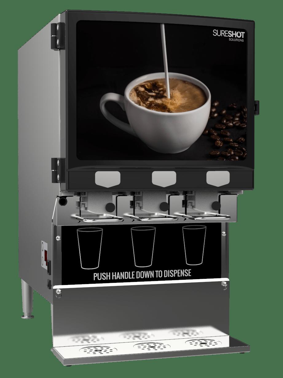 SureShot FlexoShot AC330-SS-14 Milk and Cream Dispenser
