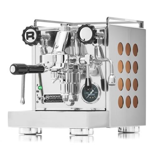 Rocket Appartamento Semi Automatic Espresso Machine Copper