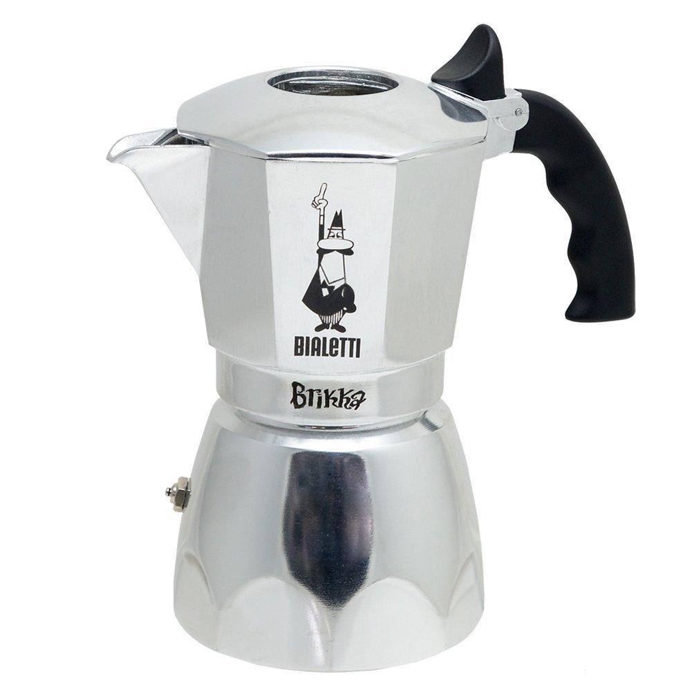 Bialetti 4 Cup Brikka Coffeemaker - Open Top