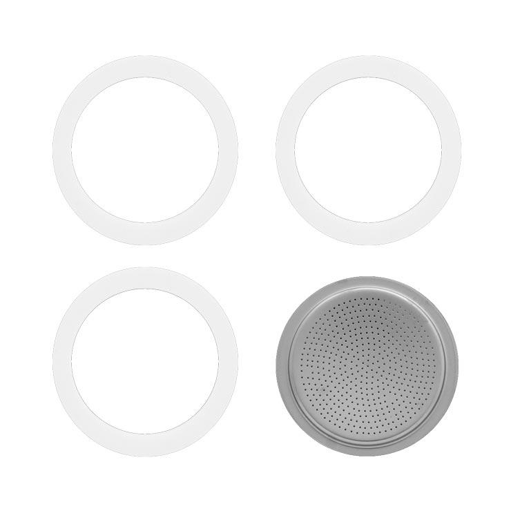 Bialetti Moka/Dama 3 Cup Gasket Set