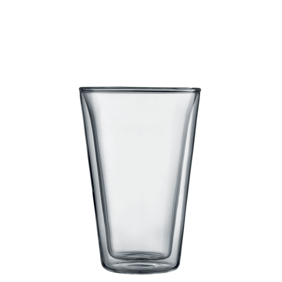 Bodum Canteen Double Wall Glasses Set of 6 - Large 0.4L / 13.5oz