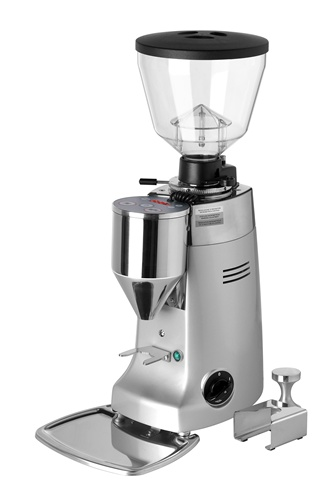 Mazzer Kony Electronic Stepless Espresso Grinder - Silver