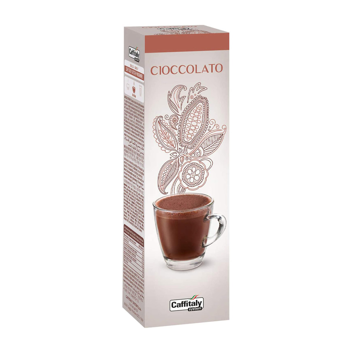 Caffitaly Hot Chocolate / Bevanda al Cacao Capsules - Box of 10