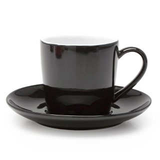 BIA Black Cappuccino Cups Set of 6