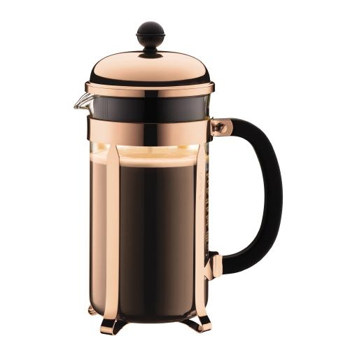 Bodum Chambord Copper 8 Cup French Press Coffee Maker 1L 34oz