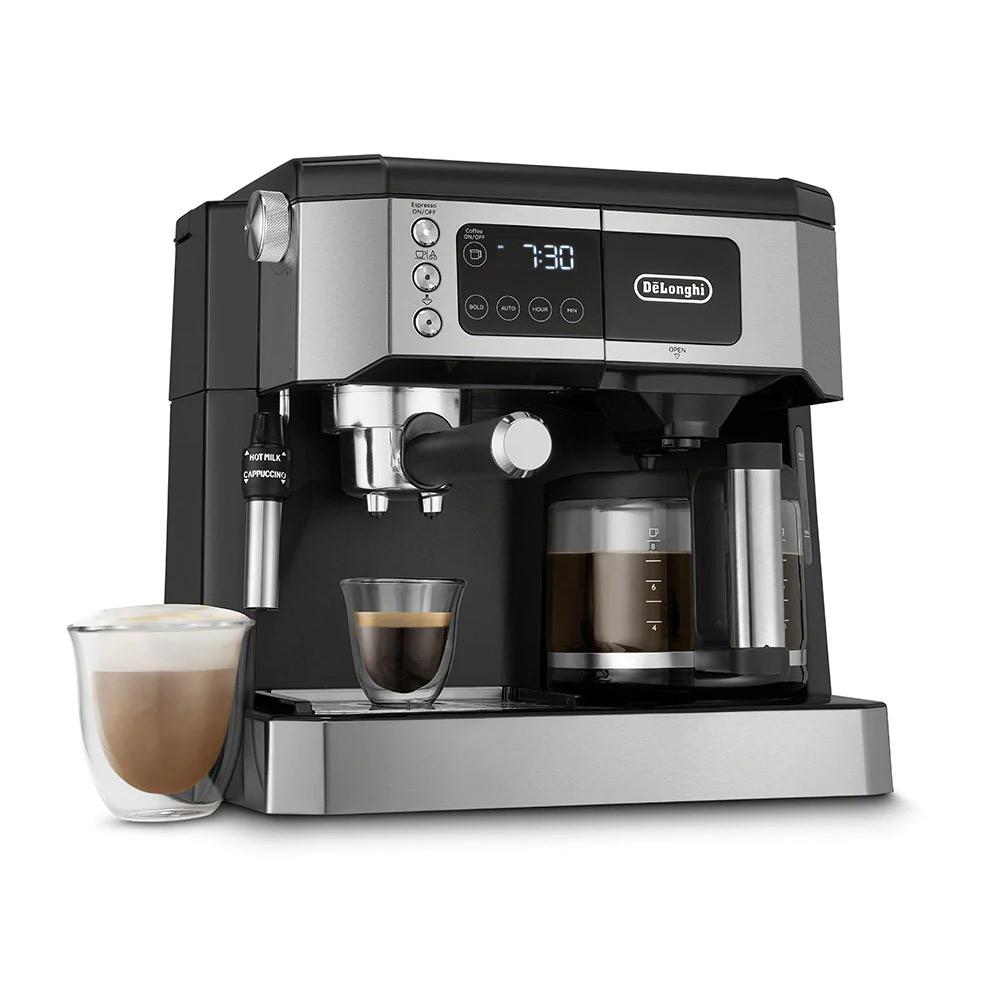 DeLonghi Combination Pump Espresso & Drip Coffee Maker - COM532M