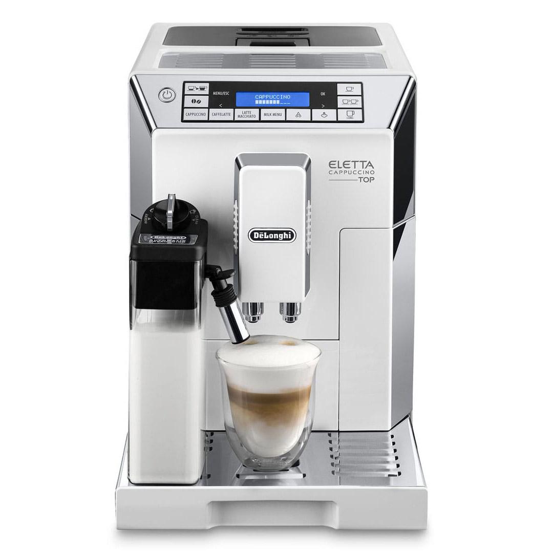 DeLonghi Eletta Cappuccino Super Automatic Espresso Machine White - ECAM44660W