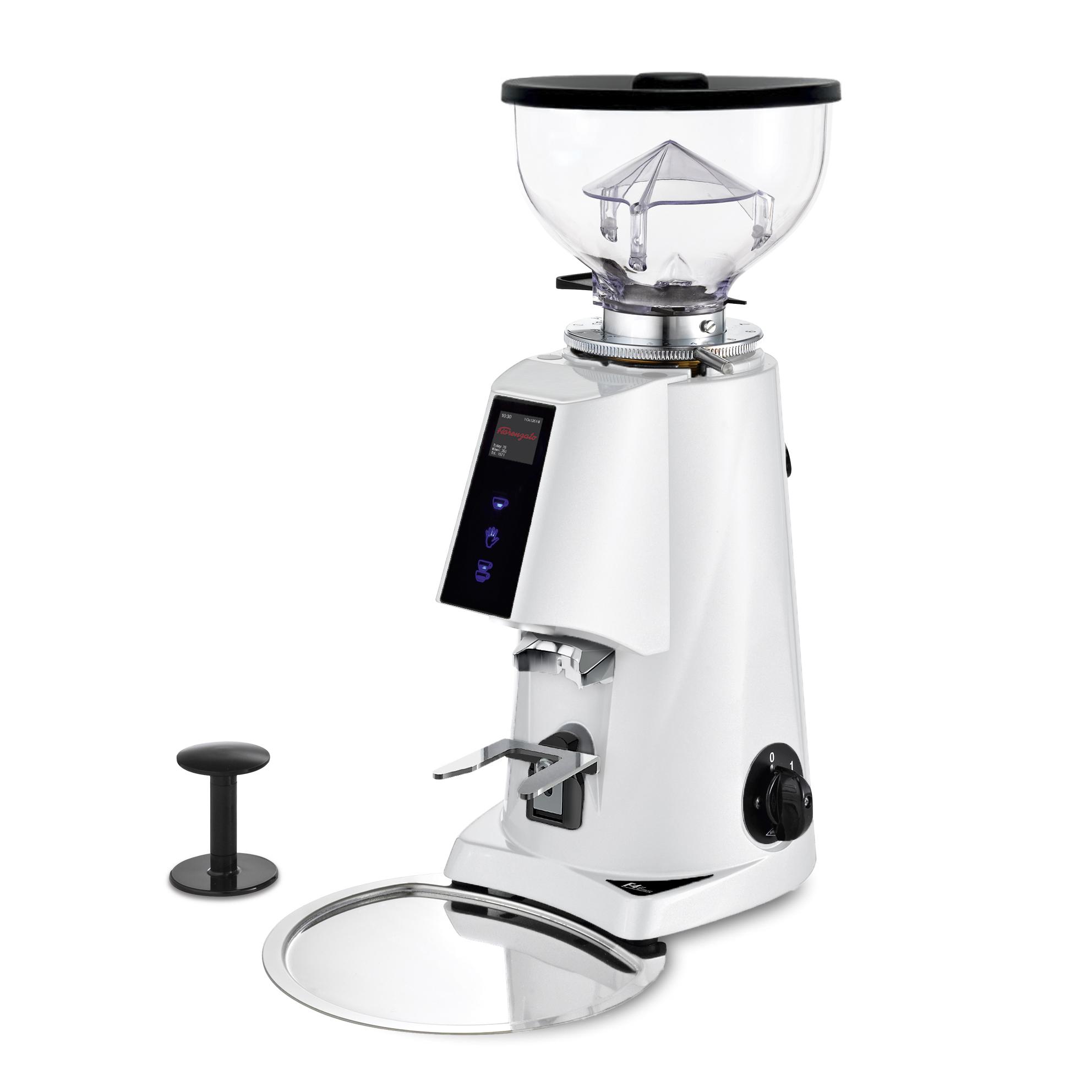 Fiorenzato F4E Nano V2 Electronic Espresso Grinder WHITE