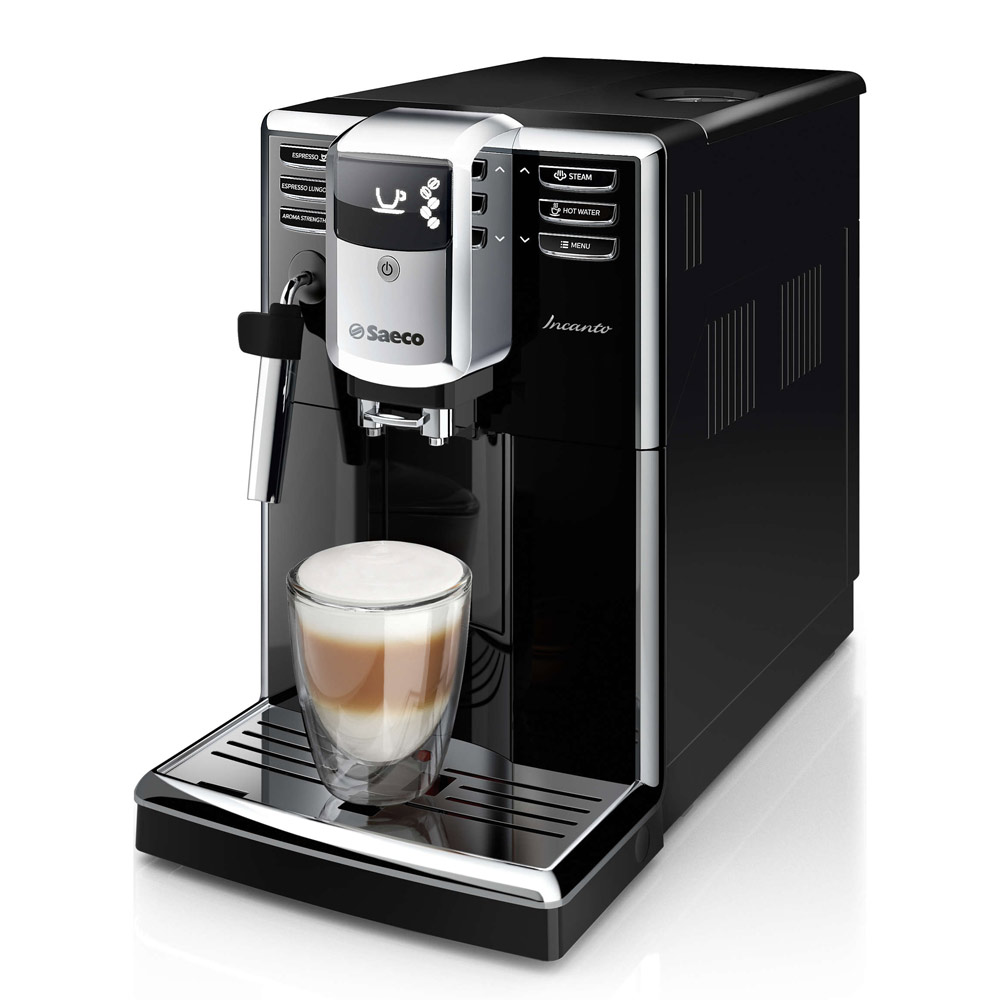Saeco Incanto Black Superautomatic Espresso Machine - HD8911/48