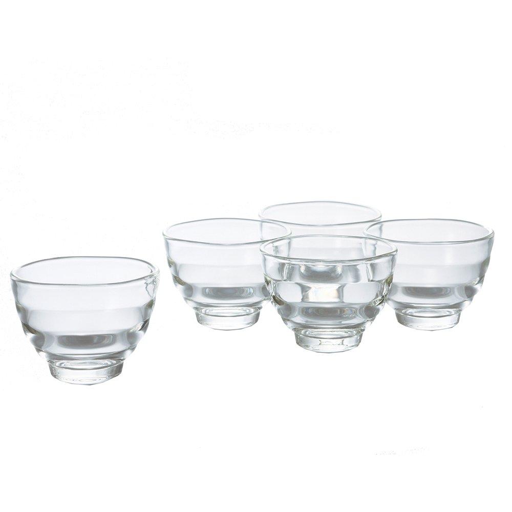 Hario Yunomi Heatproof Glasses 170ml 5pc. Set - HU-3012