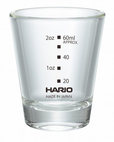 Hario Shot Glass 3oz with Black Print