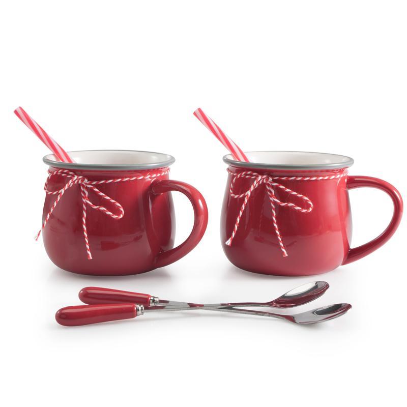BIA Hot Chocolate Set RED