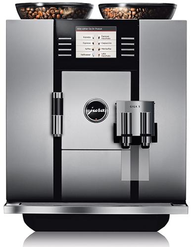 Jura Giga 5 Espresso Machine Dual Bean Hopper