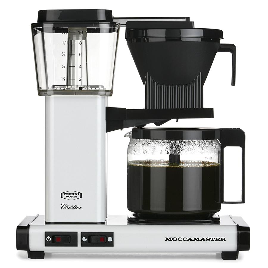Technivorm Moccamaster KBG 741 AO Coffee Maker Glass Carafe White 59611