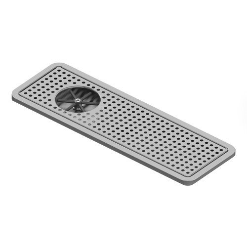 """Krome Pitcher Rinser Large Recessed Tray 25"""" x 8.50"""" - C4031"""