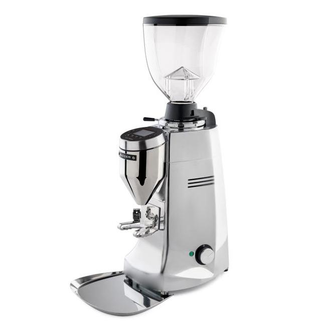 Mazzer Robur S Electronic Stepless Espresso Grinder Silver