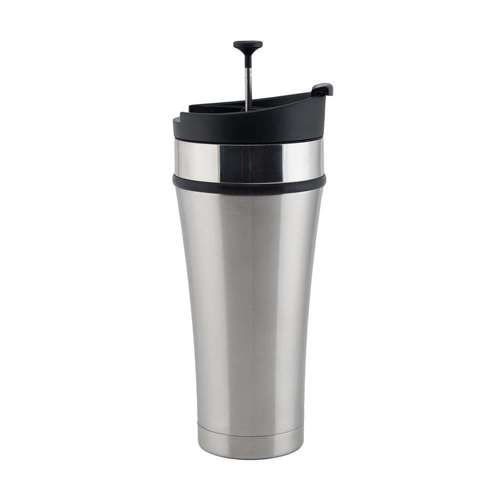 Planetary Design Infuser Mug Tumbler for Tea & Coffee 16 fl. oz. - Brushed Steel - TT0116