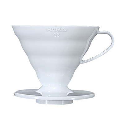 Hario V60 Coffee Dripper White Plastic 02 - VD-02W