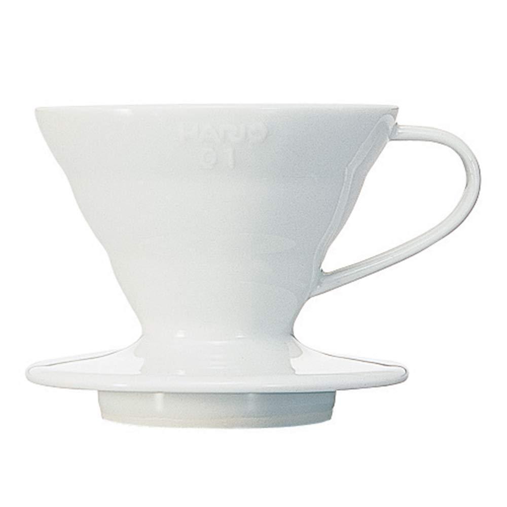 Hario V60 Coffee Dripper White Ceramic 01 - VDC-01W