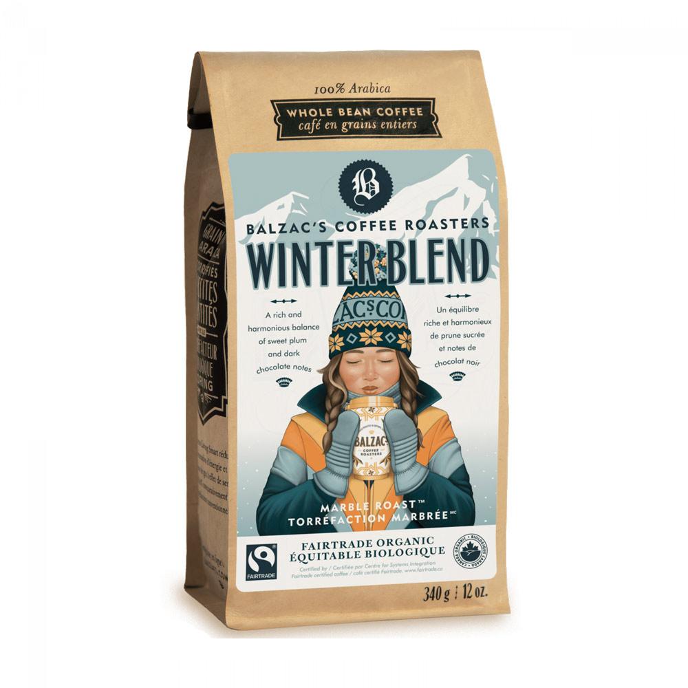 Balzac's Coffee Roasters Winter Blend Beans - 12 oz
