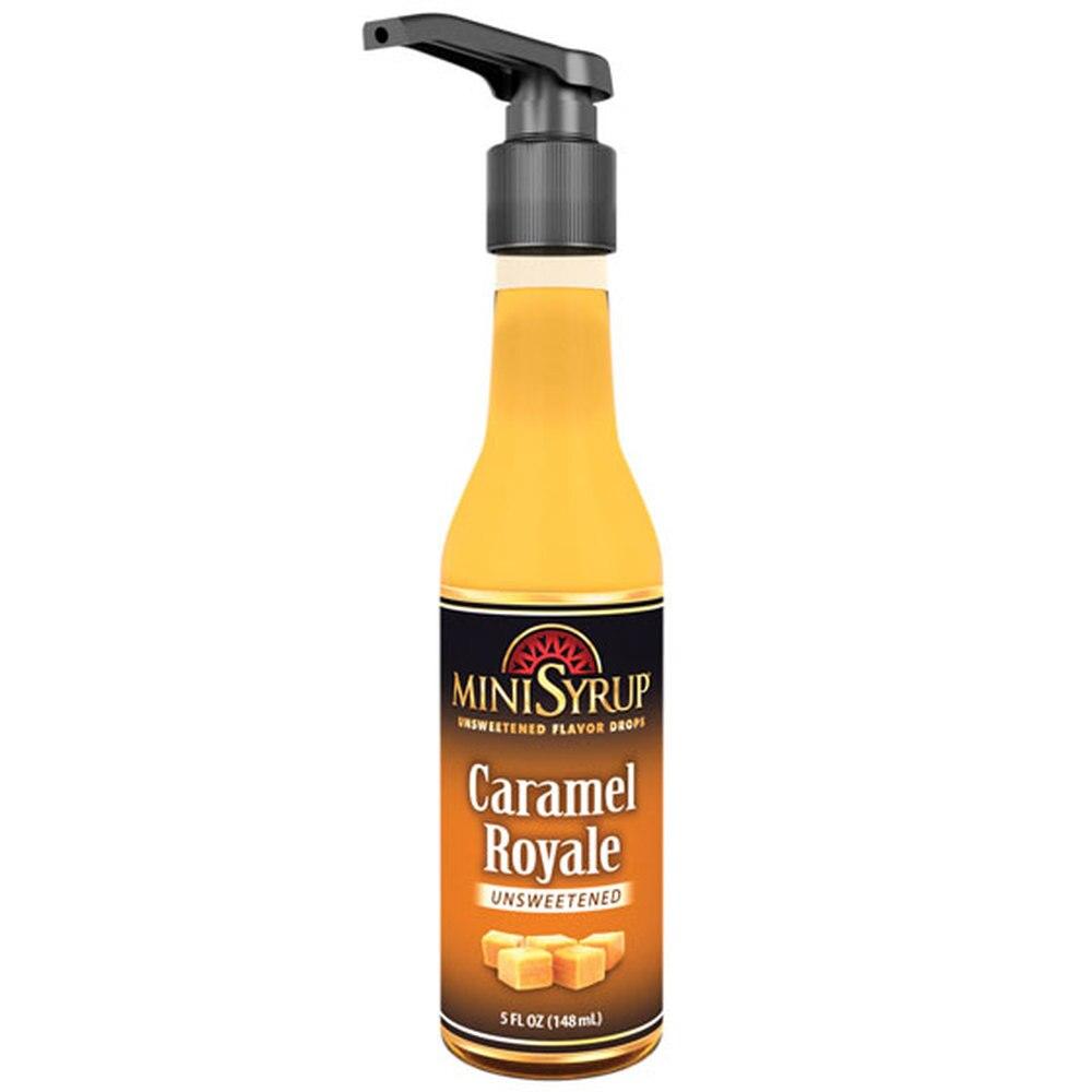 Zavida MiniSyrup - Caramel Royale Flavour Shots - 5oz