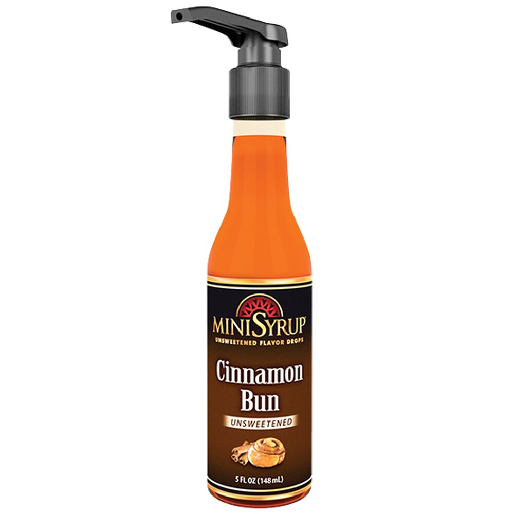 Zavida MiniSyrup - Cinnamon Bun Flavour Shots - 5oz