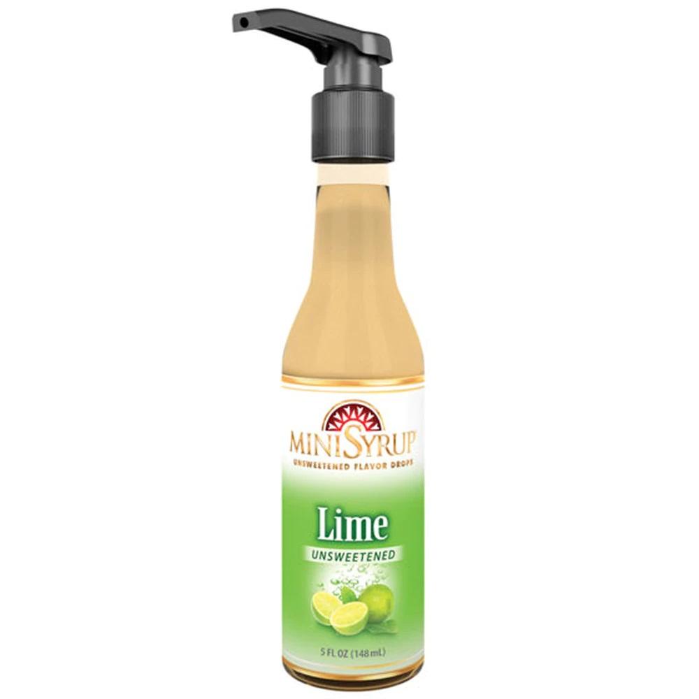 Zavida MiniSyrup - Lime Flavour Shots - 5oz