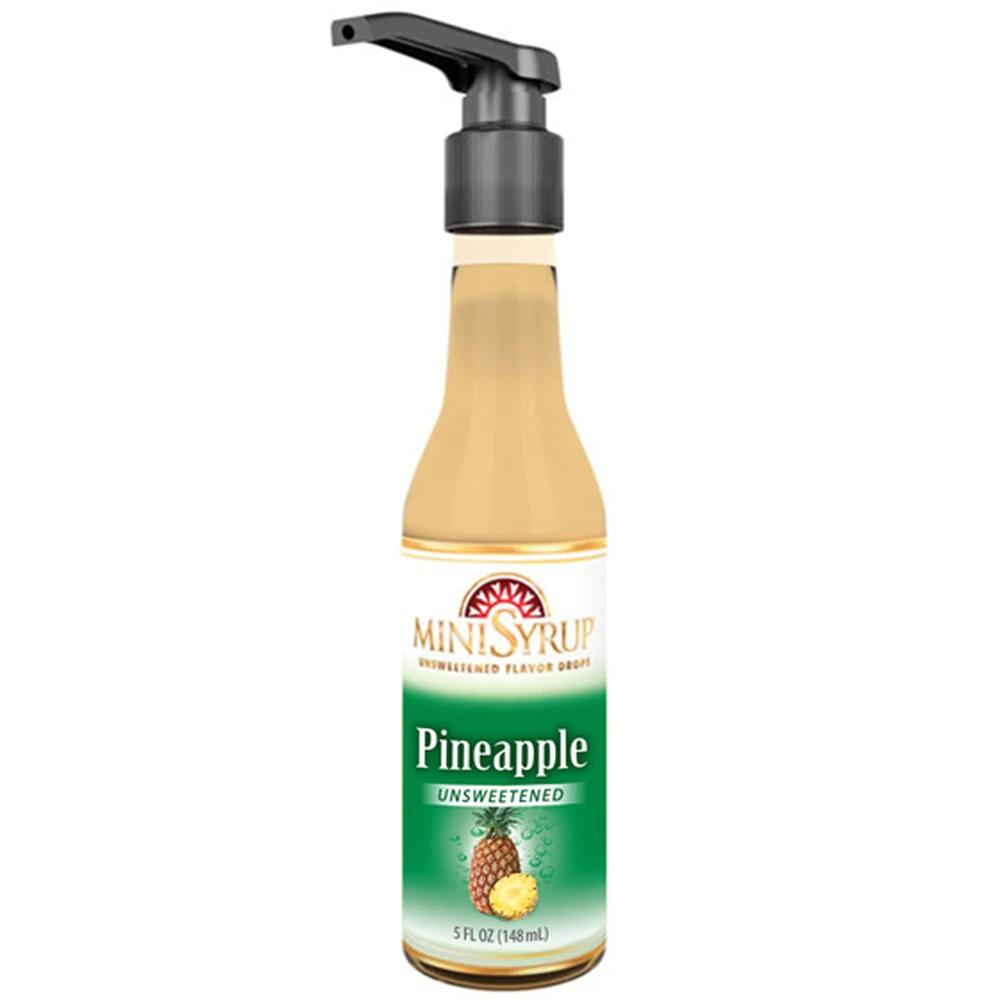 Zavida MiniSyrup - Pineapple Flavour Shots - 5oz