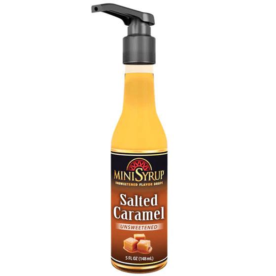 Zavida MiniSyrup - Salted Caramel Flavour Shots - 5oz