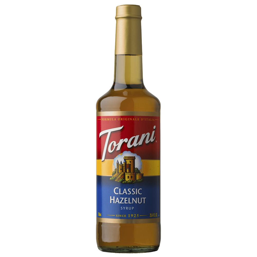 Torani Classic Hazelnut Syrup 750ml