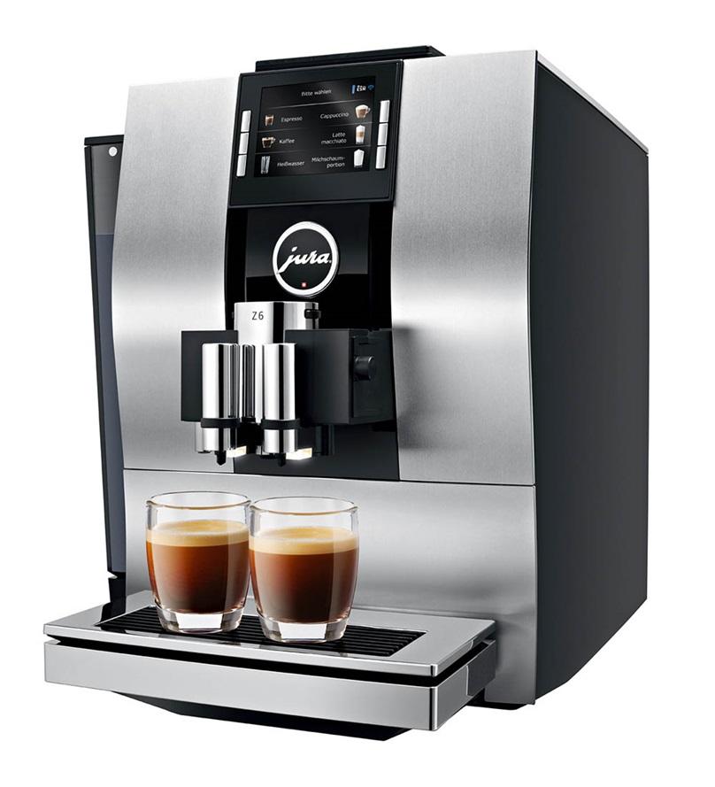 Jura Impressa Z6 One Touch TFT Super Automatic Espresso Machine Aluminum  (OPEN BOX - IN STORE PURCHASE ONLY)