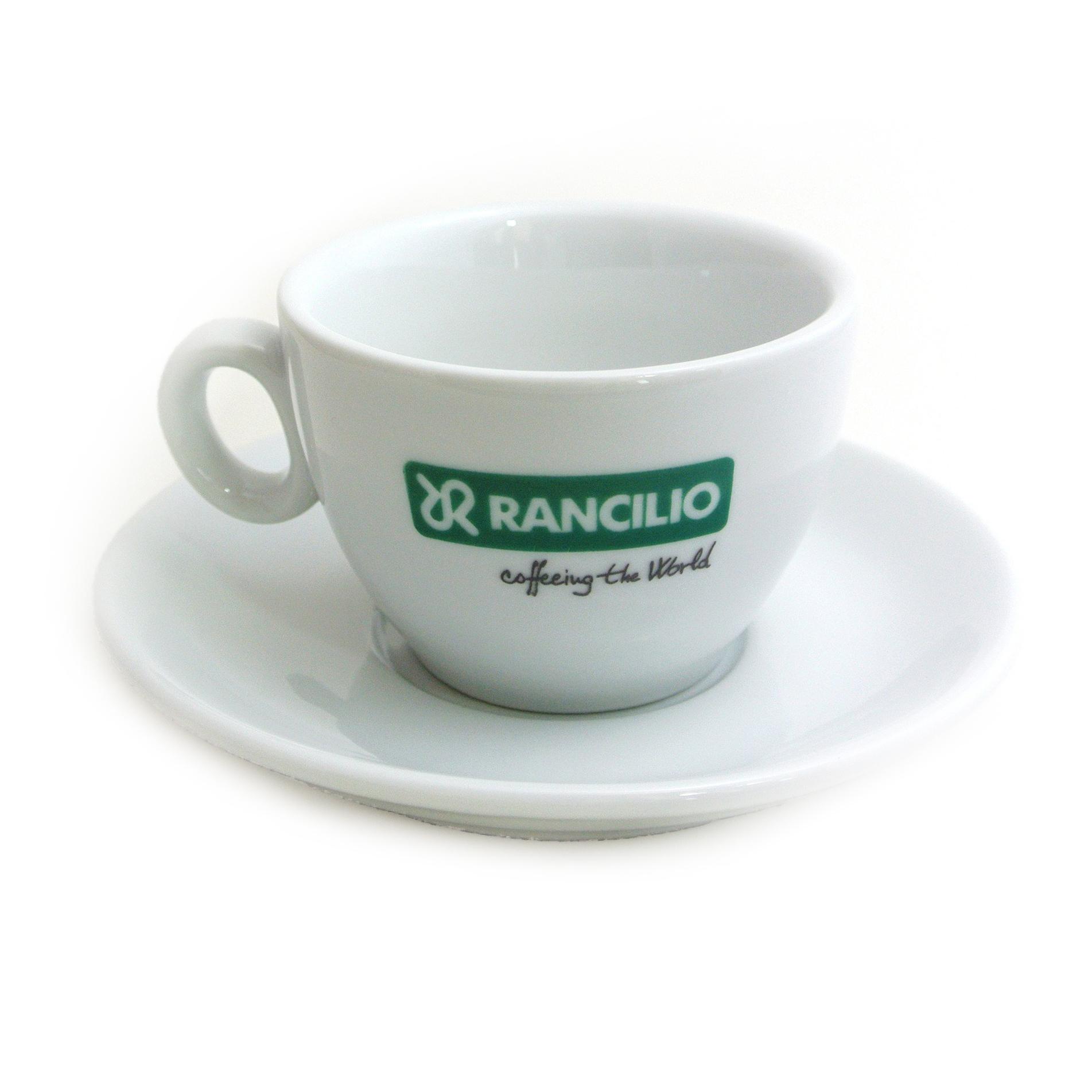 Rancilio Logo Cappuccino Cups